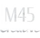 M45_Creative_Logo_White